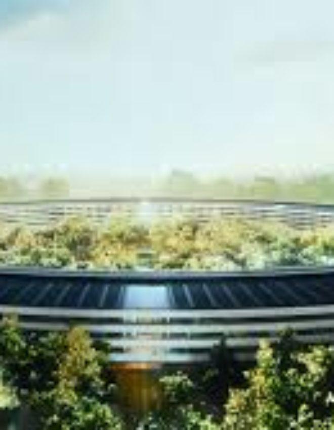 Le spaceship d'Apple ! Lieu où architecture rime avec technologie